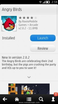 Launch Angry Birds