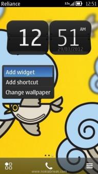 Nokia Widgets
