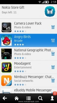 Select Angry Birds App