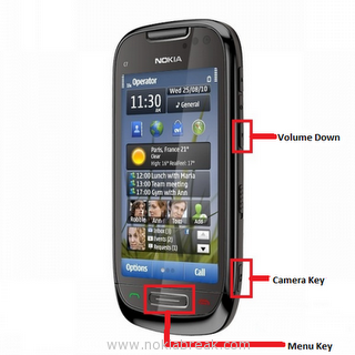Hard Reset Nokia N8 808 C7