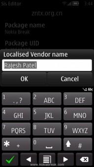 Localised Vendor Name