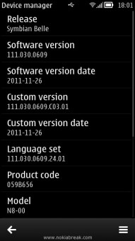 Nokia Device Manager