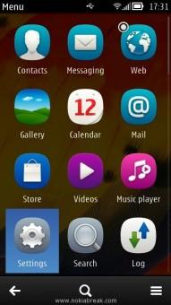 Nokia Menu Settings