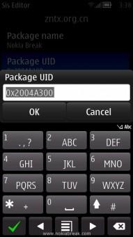 Package UID