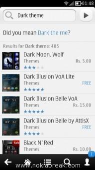 Dark Theme for Nokia Belle, Anna, Symbian