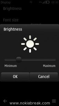 Decrease brightness