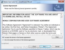 Nokia Care License Agreement