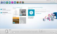 Nokia Suite 3.4.40 Homescreen