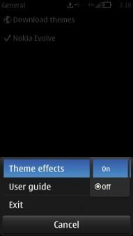 Nokia Theme Effects ON