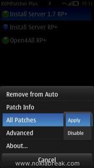 Apply Install ServerRP+ 1.7 RP+ Patch