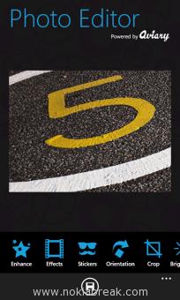 Aviary Photo Editor for Windows Phone