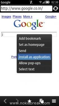 Create Web Link App