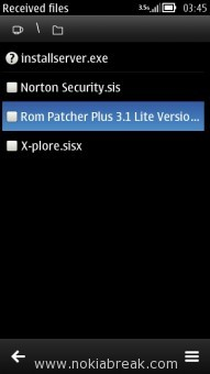Install Rom Patcher Plus 3.1 in N8