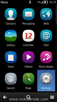 Nokia N8 Belle Settings