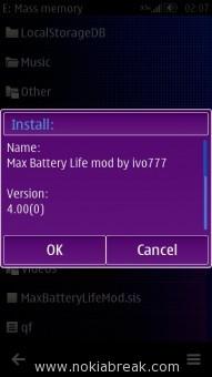 Max Battery Life Mod
