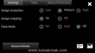 Nokia Panorama