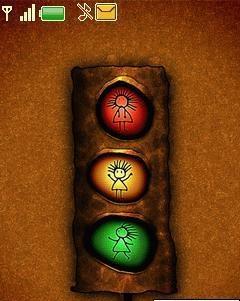 Traffic light - free nokia 6300 theme