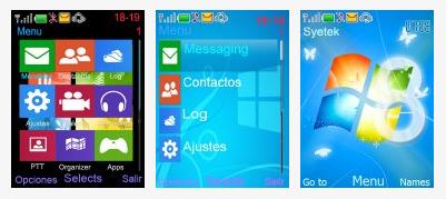 Windows 8 style nokai 6300 theme