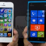 Nokia Lumia 900 VS Apple iPhone 5