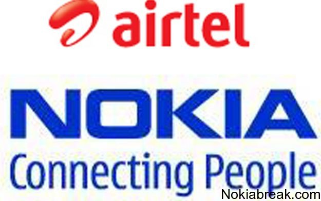 nokia partners with airtel